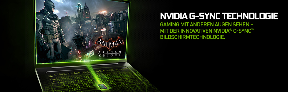NVIDIA G-SYNC – Monitortechnologie für PC-Gaming