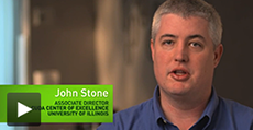 Video: John Stone, Senior Research Programmer an der University of Illinois, VMD-Entwickler. (auf Englisch)