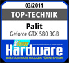 PC Games Hardware Palit GTX 580