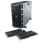 Dell-PowerEdge-T620-Server mit NVIDIA-Tesla-GPUs